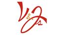 V and Js custom logo design by DesignWise Art