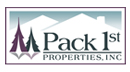 Custom logo design for Pack First Properties
