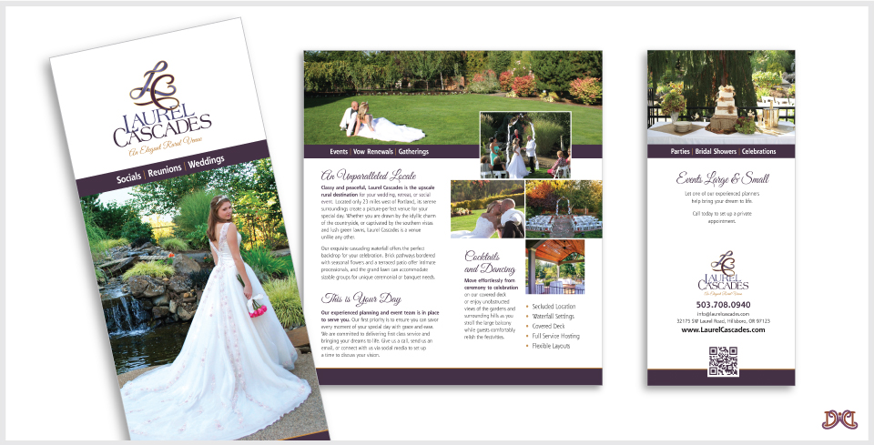 Laurel Cascades Brochure Design by DesignWise Art